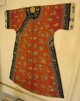 Woman's Court Robe, Late 19th century. Silk, 47 7/16 x 53 1/8 in. (120.5 x 135 cm). Brooklyn Museum, Museum Expedition 1913-1914, Museum Collection Fund, 14.143. Creative Commons-BY