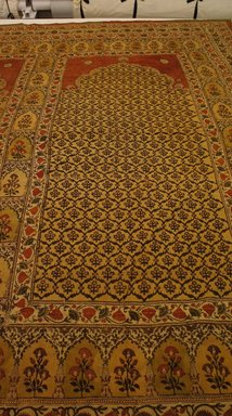 Curtain, 18th century. Cotton weave, 96 7/8 x 244 1/8 in. (246 x 620 cm). Brooklyn Museum, Museum Expedition 1913-1914, Museum Collection Fund, 14.725. Creative Commons-BY