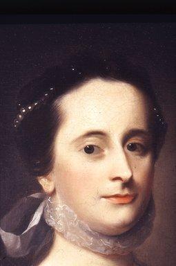 John Singleton Copley (American, 1738-1815). Mrs. Benjamin Davis, née Anstice Greenleaf, ca. 1764. Oil on canvas, 30 1/16 x 24 7/8 in. (76.4 x 63.2 cm). Brooklyn Museum, Purchased through Special Subscription, 15.317