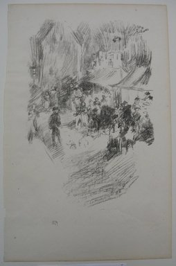 James Abbott McNeill Whistler (American, 1834-1903). The Fair, 1895. Lithograph, 12 3/4 x 8 1/8 in. (32.4 x 20.6 cm). Brooklyn Museum, Gift of the Rembrandt Club, 15.410