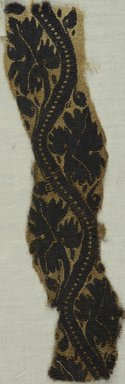 Coptic. Tapestry Set in Plain Linen Weave, 3rd-4th century C.E. Flax, wool, 10 3/8 x 2 1/2 in. (26.4 x 6.4 cm). Brooklyn Museum, Gift of the Egypt Exploration Fund, 15.430. Creative Commons-BY