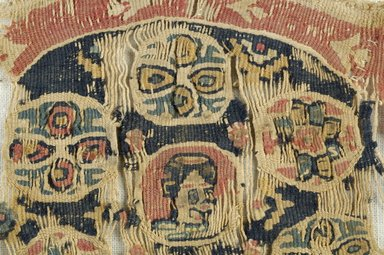 Coptic. Tapestry Weave, 5th-6th century C.E. Flax, wool, 4 x 4 in. (10.2 x 10.2 cm). Brooklyn Museum, Gift of the Egypt Exploration Fund, 15.470. Creative Commons-BY