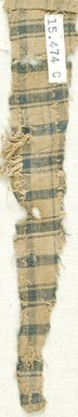 Coptic. Plain Cloth Weave, 5th-6th century C.E. Linen, 2 x 9 in. (5.1 x 22.9 cm). Brooklyn Museum, Gift of the Egypt Exploration Fund, 15.474c. Creative Commons-BY