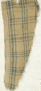 Coptic. Plain Cloth Weave, 5th-6th century C.E. Linen, 2 1/2 x 6 in. (6.4 x 15.2 cm). Brooklyn Museum, Gift of the Egypt Exploration Fund, 15.474d. Creative Commons-BY