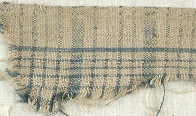 Coptic. Plain Cloth Weave, 5th-6th century C.E. Linen, 2 x 10 1/2 in. (5.1 x 26.7 cm). Brooklyn Museum, Gift of the Egypt Exploration Fund, 15.474h. Creative Commons-BY