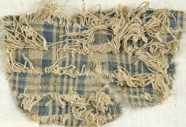Coptic. Plain Cloth Weave, 5th-6th century C.E. Linen, 4 x 5 in. (10.2 x 12.7 cm). Brooklyn Museum, Gift of the Egypt Exploration Fund, 15.474i. Creative Commons-BY