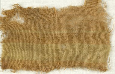 Coptic. Specimen of Woolen Weave, 5th-6th century C.E. Wool, 3 x 5 in. (7.6 x 12.7 cm). Brooklyn Museum, Gift of the Egypt Exploration Fund, 15.475g. Creative Commons-BY