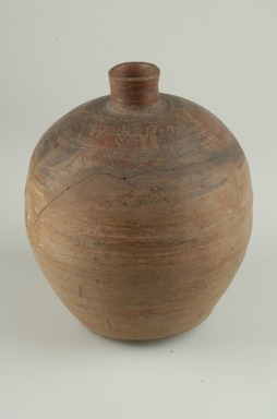 Brooklyn Museum: Polished Red Jar