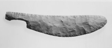 Large Knife with Re-Entrant Handle, ca. 2800-2675 B.C. Chert, 2 1/2 x 11 7/8 in. (6.4 x 30.2 cm). Brooklyn Museum, Gift of the Egypt Exploration Fund, 15.491. Creative Commons-BY