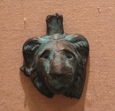 Brooklyn Museum: Lion Head