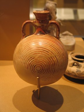 Brooklyn Museum: Mycenaean Pilgrim Flask