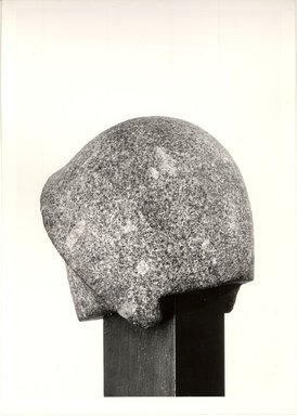 Helmet for a Royal Statue. Granite, 8 1/16 x 7 1/2 x 7 1/2 in. (20.5 x 19 x 19 cm). Brooklyn Museum, Gift of Evangeline Wilbour Blashfield, Theodora Wilbour, and Victor Wilbour honoring the wishes of their mother, Charlotte Beebe Wilbour, as a memorial to their father, Charles Edwin Wilbour, 16.47. Creative Commons-BY