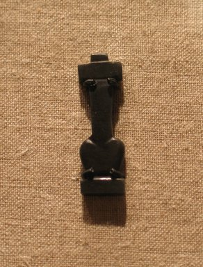 Amulet of Lungs and Windpipe, ca. 1539-1295 B.C.E. or later. Stone, 1 1/8 x 5/16 x 1/8 in. (2.8 x 0.8 x 0.3 cm). Brooklyn Museum, Gift of Evangeline Wilbour Blashfield, Theodora Wilbour, and Victor Wilbour honoring the wishes of their mother, Charlotte Beebe Wilbour, as a memorial to their father Charles Edwin Wilbour, 16.580.28. Creative Commons-BY
