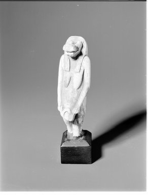 Statuette of the Goddess Thueris. Limestone, 4 5/16 in. (11 cm). Brooklyn Museum, Gift of Evangeline Wilbour Blashfield, Theodora Wilbour, and Victor Wilbour honoring the wishes of their mother, Charlotte Beebe Wilbour, as a memorial to their father, Charles Edwin Wilbour, 16.637. Creative Commons-BY
