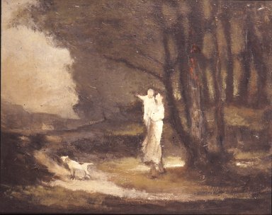 Brooklyn Museum: Landscape with Figures