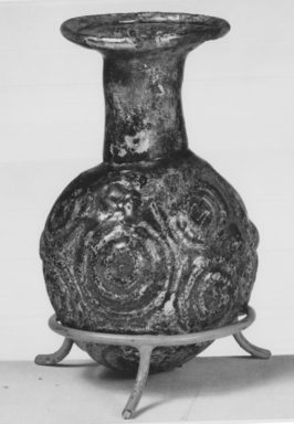 Roman. Sprinkler, 4th-5th century C.E. Glass, 4 1/2 x Diam. 2 11/16 in. (11.5 x 6.8 cm). Brooklyn Museum, Robert B. Woodward Memorial Fund, 19.12. Creative Commons-BY
