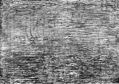 Ilana Salama Ortar (Egyptian, born 1949). Inside-Outside #2, 1989. Ink, oilstick, graphite and gouache, 27 1/2 x 39 1/2 in. (69.9 x 100.3 cm). Brooklyn Museum, Gift of the artist, 1989.163b. © Ilana Salama Ortar