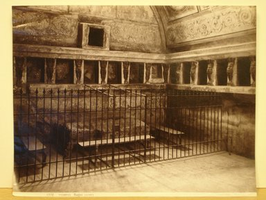 Georgio Sommer. Untitled, n.d. Albumen silver photograph on paper, 8 x 10 in. (20.3 x 25.4cm). Brooklyn Museum, Gift of Mitchell Deutsch, 1989.192.31