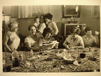 John Milisenda (American, born 1947). My Family, August 22, 1990. Gelatin silver photograph, sheet: 8 x 10 in. Brooklyn Museum, Gift of the artist, 1991.17.3. © John Milisenda