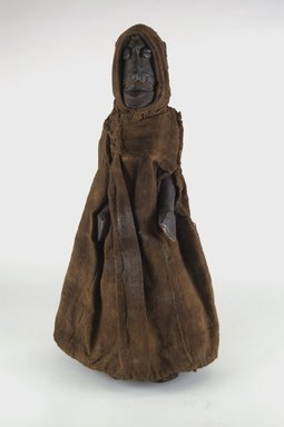 Bobo. Figure of a Female, early 20th century. Wood, cloth, cowrie shell, metal, 14 1/4 x 4 x 4 in. (36.2 x 10.2 x 10.2 cm). Brooklyn Museum, Gift of Eugene and Harriet Becker, 1991.226.2. Creative Commons-BY