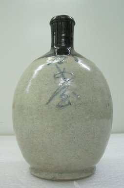 Sake Bottle, 19th century. Ceramic, height: 10 in. Brooklyn Museum, Gift of the Estate of Charles A. Brandon, 1991.74.28. Creative Commons-BY