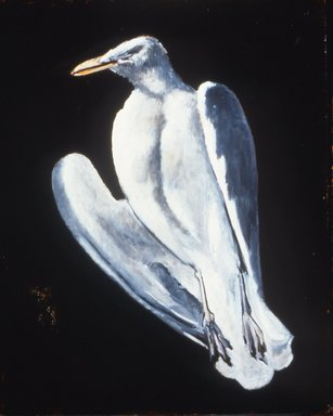 Marsden Hartley (American, 1877-1943). Gull, 1942-1943. Oil on fabricated board, 28 x 22 in. (71.1 x 55.9 cm). Brooklyn Museum, Bequest of Edith and Milton Lowenthal, 1992.11.21. © Estate of Marsden Hartley, Yale University Committee on Intellectual Property