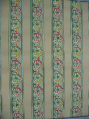 """U.W.P.C. of N.A.. Wallpaper Border Paper, first half of 20th century. Printed paper, Width: 19"""". Brooklyn Museum, Gift of Edwin Ward Bitter, Robert Bitter, Mark Bitter, and Therese Bitter Cook, 1992.153.38a-b"""