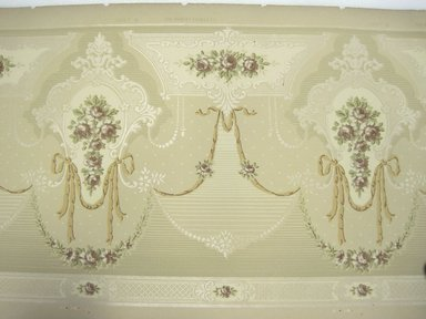 Brooklyn Museum: Wallpaper Frieze Paper