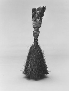 Loma. Janus-faced Staff, early 20th century. Wood, feathers, palm fiber, 30 1/2 x 13 in. (77.5 x 33 cm). Brooklyn Museum, Gift of Blake Robinson, 1992.196.2. Creative Commons-BY