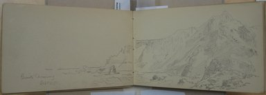William Trost Richards (American, 1833-1905). Sketchbook: British Isles, 1891. Graphite on white paper, 4 3/4 x 7 1/2 in. (85 pages). Brooklyn Museum, Gift of Edith Ballinger Price, 1993.225.5