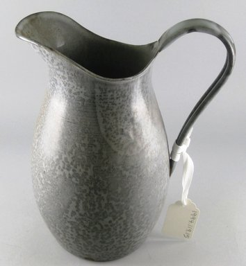 Pitcher, early 20th century. Enamelled metal, height: 10 5/8 in. Brooklyn Museum, Gift of Paul F. Walter, 1994.119.15. Creative Commons-BY