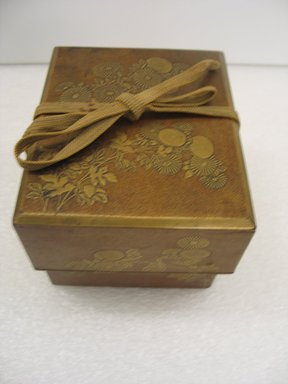 Food Delivery Container, 19th century. Cypress wood box, iron fittings Brooklyn Museum, Gift of Dr. and Mrs. John P. Lyden, 1994.197.3. Creative Commons-BY