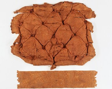 Upholstery Fragment from Hunzinger Chair, ca. 1878. Wool?, silk?, 3 x 14 1/2in. (7.6 x 36.8cm). Brooklyn Museum, Alfred T. and Caroline S. Zoebisch Fund and Maria L. Emmons Fund, 1994.2.3. Creative Commons-BY