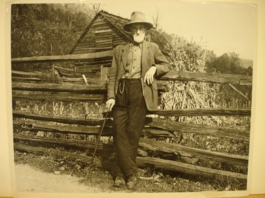 Brooklyn Museum: Postmaster Brown, Old Rag Va.