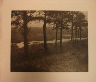 Yarnall Abbott (American, 1870-1938). Sentinels, 1909. Photogravure, image: 5 x 6 1/4 in. (12.7 x 15.9 cm). Brooklyn Museum, Gift of Mitchell F. Deutsch, 1995.206.20