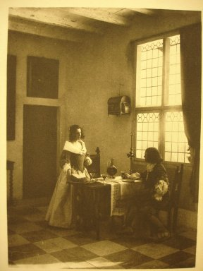 Guido Rey. A Flemish Interior, 1908. Photogravure, sheet: 11 7/8 x 8 1/8 in. Brooklyn Museum, Gift of Mitchell F. Deutsch, 1995.206.22