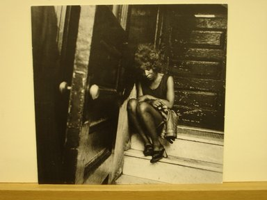 Leon Levinstein (1910-1988). [Untitled] (Harlem Prostitute), 1965. Gelatin silver photograph on textured paper, 10 7/8 x 11 1/2 in. (27.5 x 29.3 cm). Brooklyn Museum, Gift of Stuart Karu, 1995.209.12. © Estate of Leon Levinstein, courtesy of Howard Greenberg Gallery