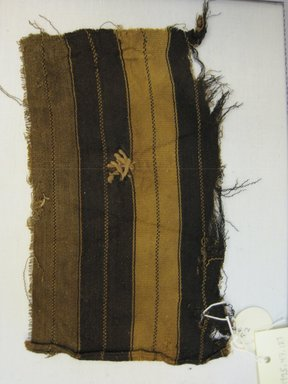 Quechua/Aymara. Shoulder Cloth, Fragment, 18th - 19th century. Cotton, camelid fiber, 5 1/8 x 8 1/4 in. (13 x 21 cm). Brooklyn Museum, Gift of Kay Hodnett Nunez, 1995.47.127. Creative Commons-BY