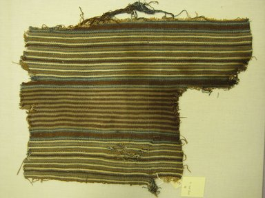 Chancay. Textile Fragment, Undetermined, 1400-1700 C.E. Cotton, (42.0 x 31.0 cm). Brooklyn Museum, Gift of Kay Hodnett Nunez, 1995.47.6. Creative Commons-BY