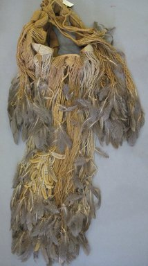 Josep Grau-Garriga. Wall Hanging, ca. 1970. Natural fibers and feathers, height: 60 in. Brooklyn Museum, Gift of Priscilla Cunningham and Jay C. Lickdyke, 1995.89.1. Creative Commons-BY