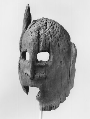 Dogon. Mask, 19th century?. Wood, 8 7/8 x 4 7/8 x 2 1/4 in. (22.5 x 12.4 x 5.7 cm). Brooklyn Museum, Gift of George and Gail Feher, 1996.200.3. Creative Commons-BY