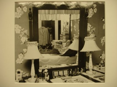 Vivian Cherry (American, born 1920). Coal Co. Doctor West Virginia (Doctor at Home), 1956. Gelatin silver photograph (vintage), image: 6 3/4 x 9 3/4 in. (17.1 x 24.8 cm). Brooklyn Museum, Gift of Steven Schmidt, 1996.241.56. © Vivian Cherry