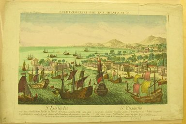 St. Eustache, One of the Islands, 1790. Hand-colored engraving, sheet: 12 13/16 x 19 5/16 in. (32.5 x 49.1 cm). Brooklyn Museum, Gift of Dr. Bertram H. Schaffner, 1998.193.4