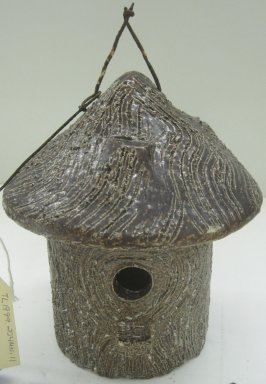 Birdhouse, 20th century. Wood and metal wire, 8 1/2 x 8 x 8 in. (21.6 x 20.3 x 20.3 cm). Brooklyn Museum, Gift of Paul F. Walter, 1999.108.12. Creative Commons-BY