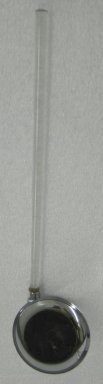 Russel Wright (American, 1904-1976). Ladle, from a Five Piece Set of Serving Utensils, ca. 1935. Stainless steel and Lucite, 1 1/2 x 13 x 3 1/2 in. (3.8 x 33 x 8.9 cm). Brooklyn Museum, Gift of Paul F. Walter, 1999.108.28. Creative Commons-BY