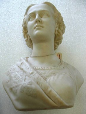 Brooklyn Museum: Bust of Princess Alexandra
