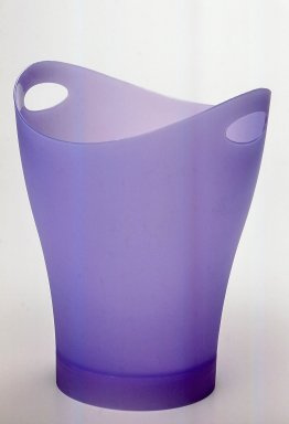 "Karim Rashid (Canadian, born Egypt, 1960). Multi-purpose Container, ""Garbino,"" Copyright 1997. Injection-molded polypropylene, 13 x 10 x 10 in. (33 x 25.4 x 25.4 cm). Brooklyn Museum, Gift of Umbra, 1999.51.1. Creative Commons-BY"