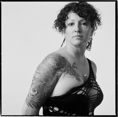 Mark Perrott (American, born 1946). Kim, 1992. Gelatin silver photograph, Sheet: 36 7/16 x 36 3/4 in.  (92.6 x 93.3 cm);. Brooklyn Museum, Gift of the artist, 1999.92.2. © Mark Perrott