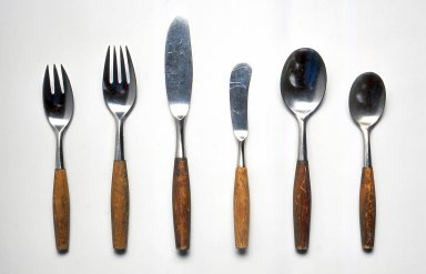 Brooklyn Museum: Salad or Dessert Fork, Fjord pattern