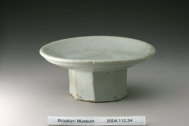 Brooklyn Museum: Mounted Dish